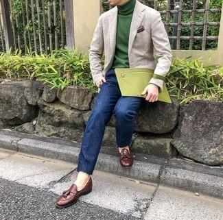 grüner Pullover von Get The Trend