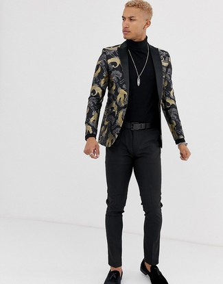schwarzer Pullover von JP 1880