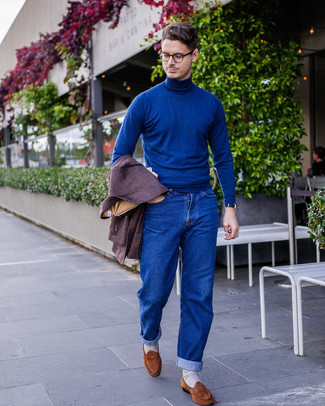 blauer Pullover von Calvin Klein