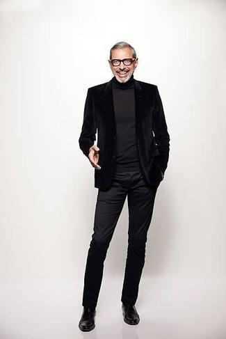 schwarzer Pullover von Karl Lagerfeld