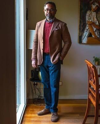 roter Pullover von Tommy Hilfiger