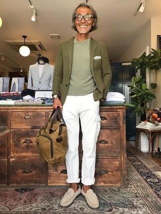 olivgrüne Jacke von Esprit