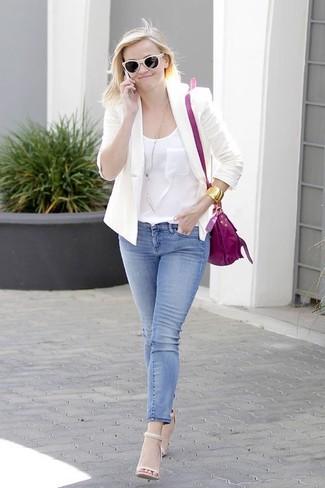 Sakko traegershirt enge jeans large 1818
