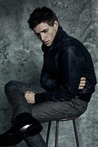 dunkelgraue Wollanzughose von Ben Sherman