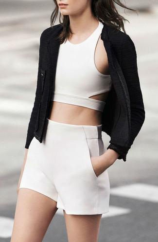 weiße Shorts von Antik Batik