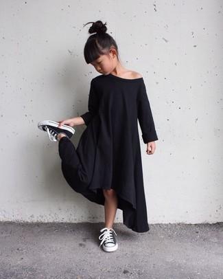 Schwarzes Kleid kombinieren: trends 2020: