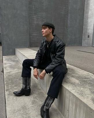 schwarze Jacke von Napapijri