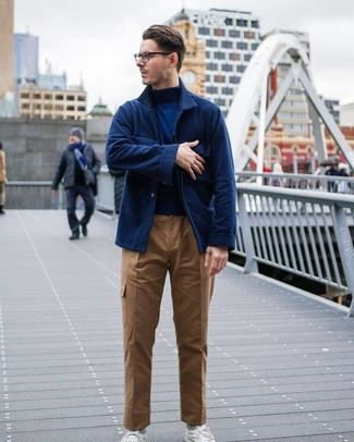 dunkelblauer Pullover von SPRINGFIELD