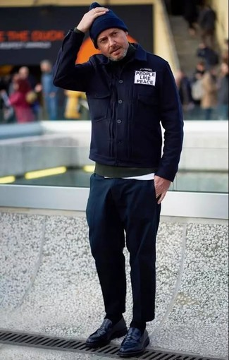 dunkelgrüner Pullover von Maerz