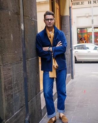 dunkelblaue Jacke von edc by Esprit