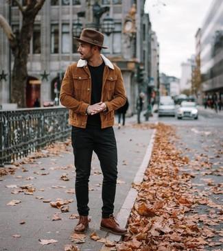 Braune Stiefel kombinieren (1000 Outfits für Herren