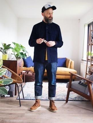 dunkelblaue Jeans von Timezone