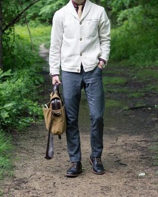weißer Pullover von Redbridge