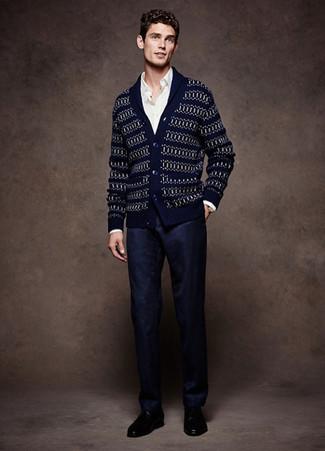 dunkelblauer Pullover von Pierre Cardin