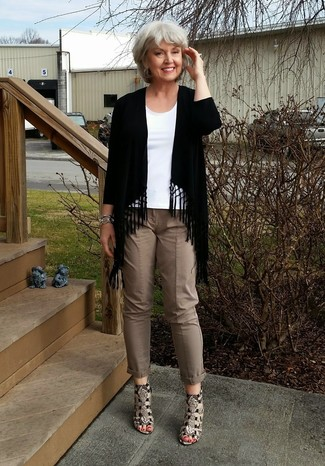 Braune hose damen kombinieren