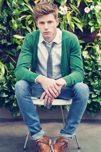 grüner Pullover von Hilfiger Denim