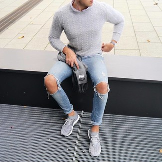 grauer Pullover von LTB Jeans