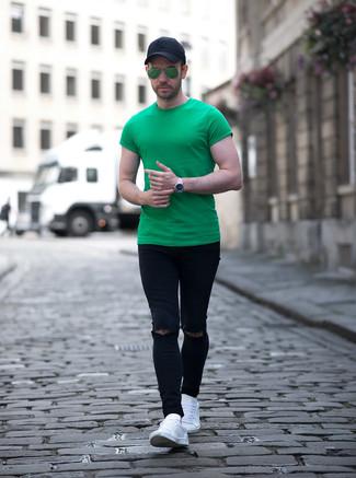 grüne Sonnenbrille von Ray-Ban