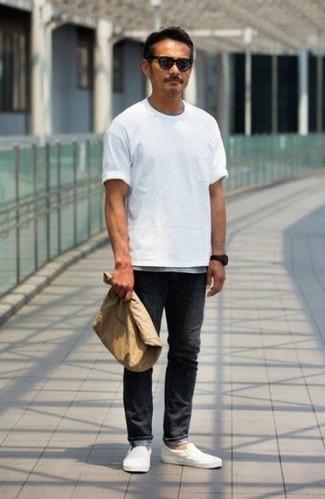 schwarze Jeans von edc by Esprit