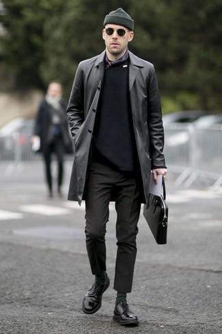 schwarzer Pullover von Roy Robson