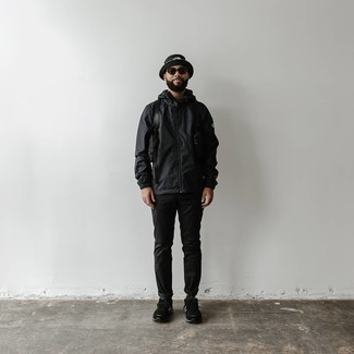 schwarze Jacke von Hilfiger Denim