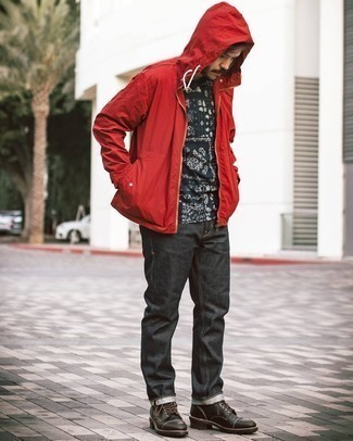 rote Jacke von Boss Orange