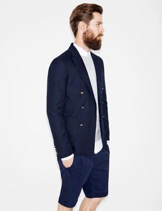 grauer Pullover mit einem Rundhalsausschnitt von Jack & Jones