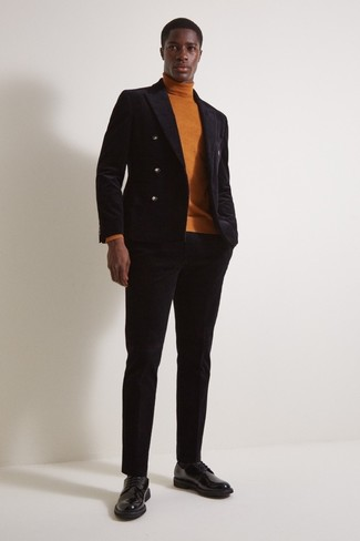 schwarze Jacke von CALAMAR MENSWEAR
