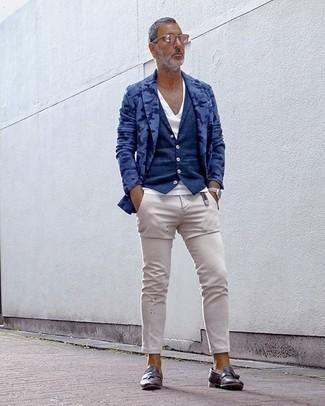 blaue Jacke von Giesswein