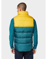 mehrfarbige ärmellose Jacke von Tom Tailor Denim