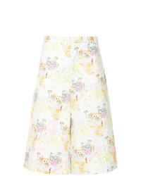 mehrfarbige bedruckte Bermuda-Shorts von Marni