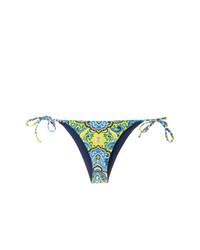 mehrfarbige bedruckte Bikinihose von MC2 Saint Barth