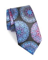 mehrfarbige bedruckte Krawatte