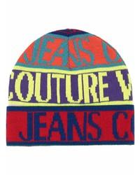 mehrfarbige bedruckte Mütze von VERSACE JEANS COUTURE