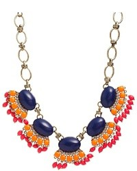 mehrfarbige bestickte Halskette von Liquorish
