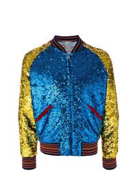 mehrfarbige Bomberjacke von Gucci