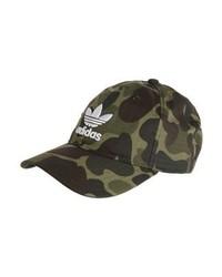 mehrfarbige Camouflage Baseballkappe von adidas