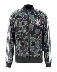 Mehrfarbige Camouflage Bomberjacke von adidas