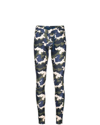 mehrfarbige Camouflage Leggings von The Upside