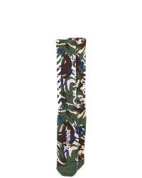 mehrfarbige Camouflage Socken von Off-White