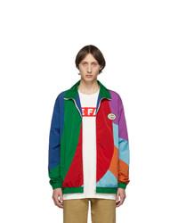 mehrfarbige Harrington-Jacke von Gucci