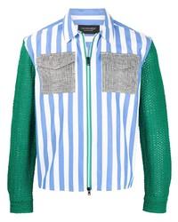mehrfarbige Harrington-Jacke von Viktor & Rolf