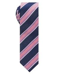 mehrfarbige horizontal gestreifte Krawatte von Eterna