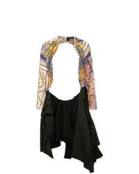 mehrfarbige Jacke mit einer offenen Front von Comme Des Garçons Vintage