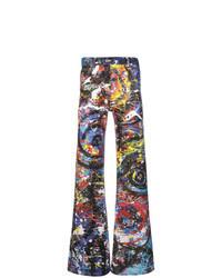 mehrfarbige Jeans