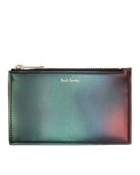 mehrfarbige Leder Clutch Handtasche von Paul Smith