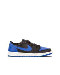 mehrfarbige Leder niedrige Sneakers von Jordan