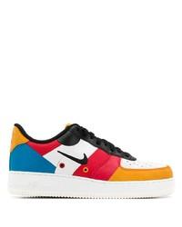 mehrfarbige Leder niedrige Sneakers von Nike