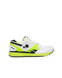 mehrfarbige Leder niedrige Sneakers von Reebok