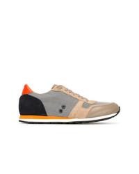 mehrfarbige Leder niedrige Sneakers von Ron Dorff